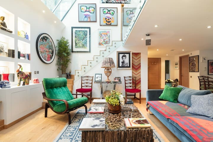 Stay in a Former Art Gallery Studio in Chelsea
