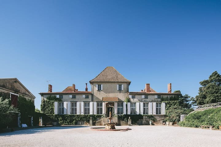 Outstanding suite in a castle by the canal du midi - Paraza - Kastély