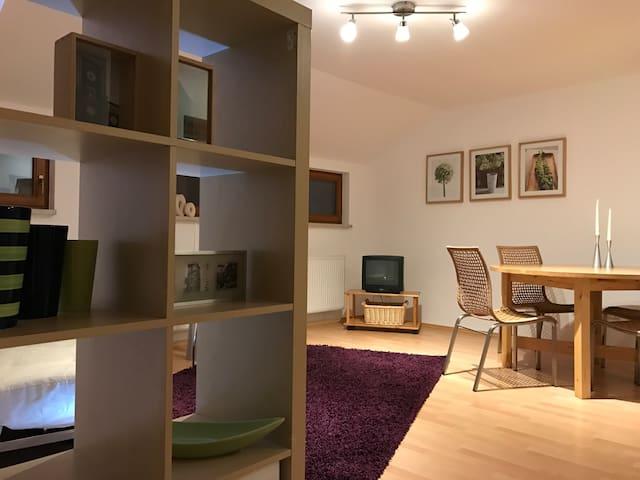 Gemütliche Ferienwohnung mitten im Stadtzentrum - Kamenz - Apartamento