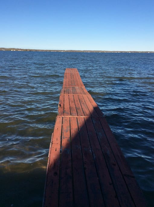 Dock on all sports lake