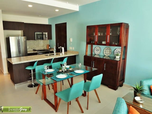 Modern Condo with Large Private Rooftop Terrace