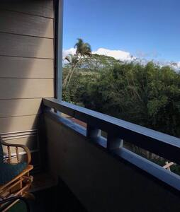 Awesome scenery from the balcony - Mililani Town - House