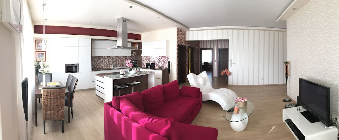 Quiet place, close to the nature - Komárno - Apartemen