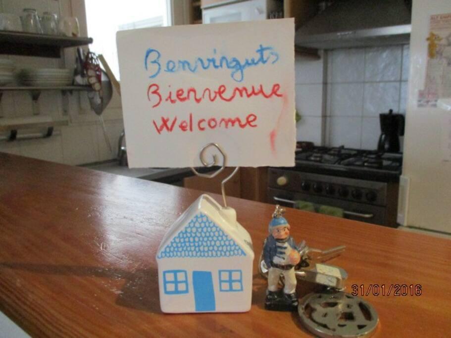 Benvinguts a casa nostra