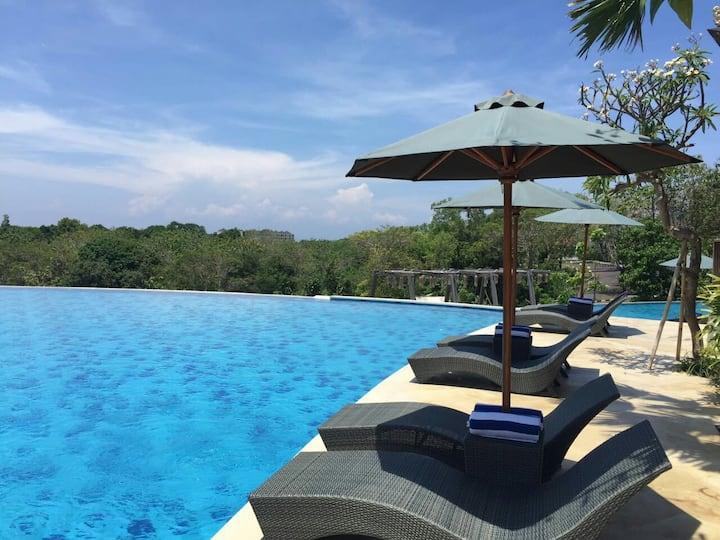 Villa Bali dancing garden