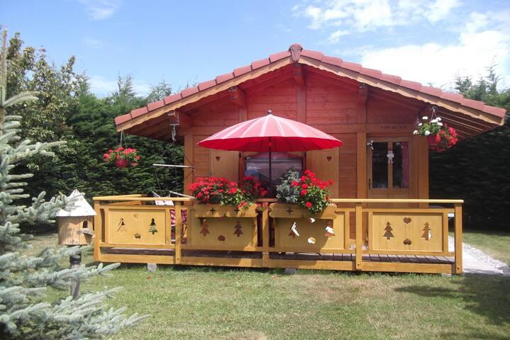 petit chalet cosy entre lac leman et montagnes - Larringes - House