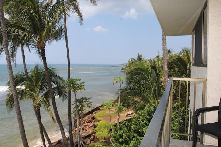 KAN401 - Corner Condo with Panoramic Oceanfront View in Ma'alaea Bay Resort