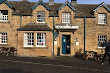 A great little pub at Pilsley on the Chatsworth Estate close to the farm shop.