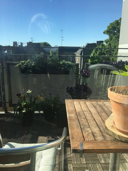 Lovely and sunny balcony