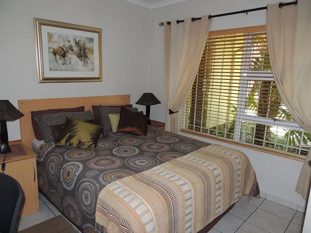 DOUBLE BED BEDROOM MAIN HOUSE