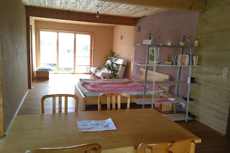 Cosy studio with kitchen in peaceful village