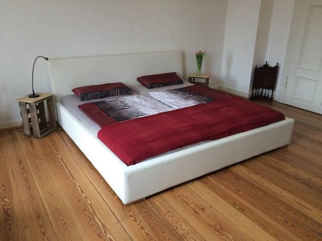 Altbauzimmer mit Loggia bei den Schillerwiesen - Göttingen - Apartment