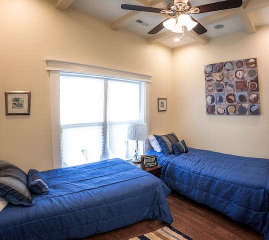 Great twin bedroom for kids or adults