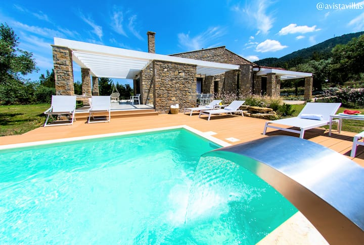 Avista - Private Pool Villa, Vourvourou
