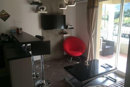 Beau T2 climatisé avec terrasse - Borgo - Apartamento