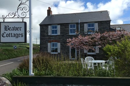 Beaver Cottages - Main Cottage, close to Tintagel - Tregatta