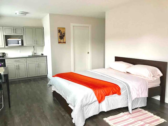 Wonderful suite with separate entrance + parking!