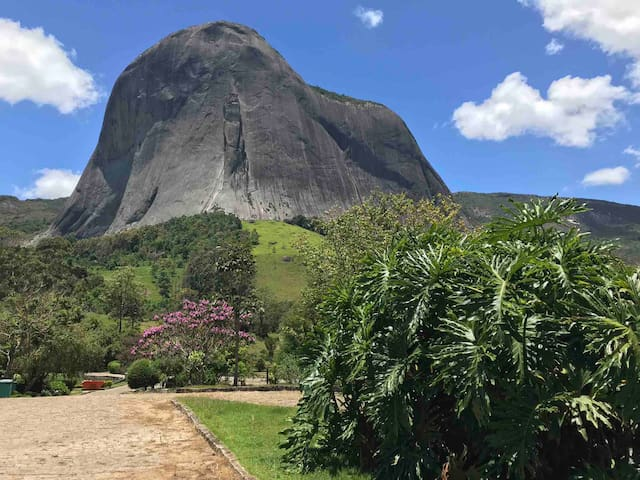 Rustic house for nature lovers by the Pedra Azul.