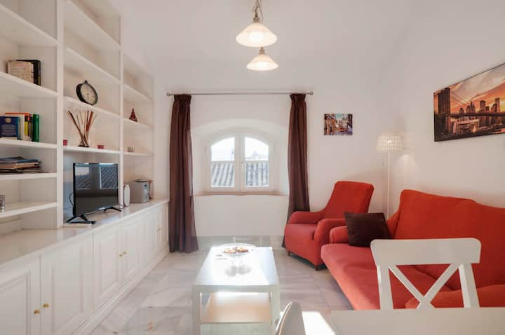 Cozy Penthouse Malaga Center, car park included