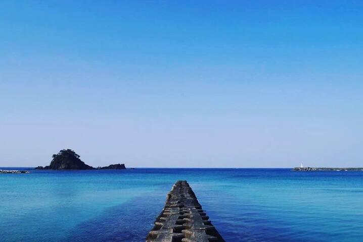 アジア初!海の国際環境認証 BLUE FLAG ビーチが徒歩1分【ドミトリーベッド2(SD)】