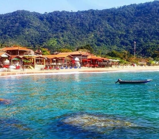 TRINDADE - FRONT OF THE SEA-PARATY - Paraty - House