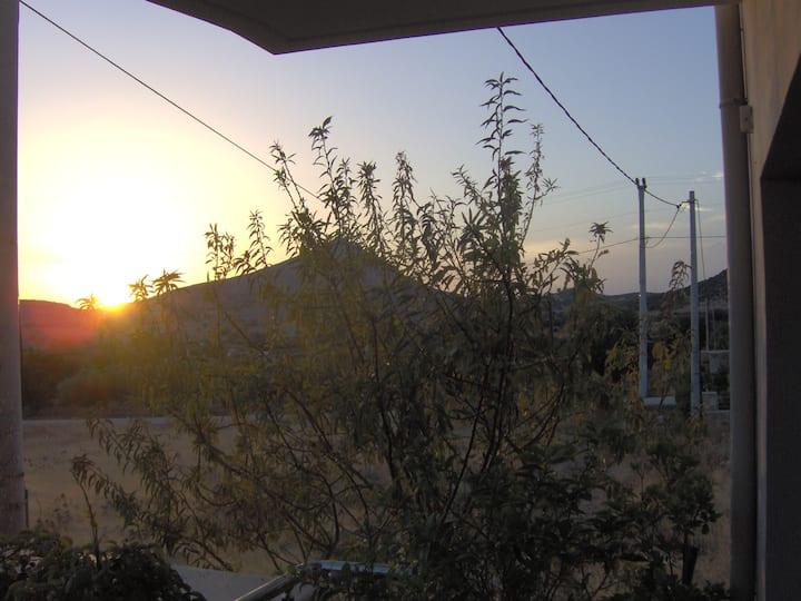 Sunset at Cape Sounio ( Studio )