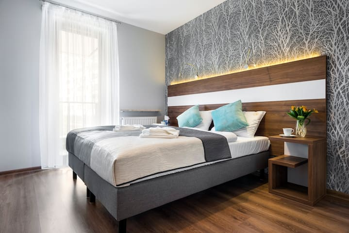 Modern comfortable apartment in the city center