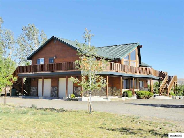 A Peaceful Home on Washoe Lake
