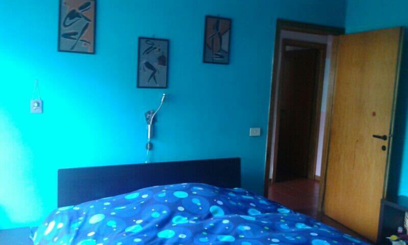 Camera Blu con giardino - Foligno - Apartament