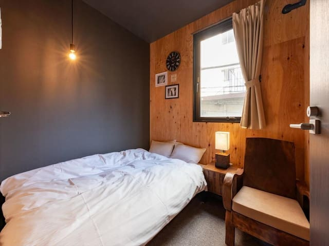 【4 minutes walk from Kuramae station】 Double room (Wi-Fi · Kitchen)