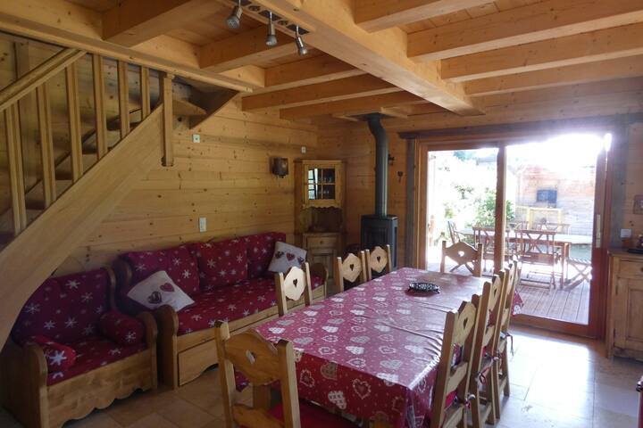 Chalet with pleinty of charms - ❤❤❤