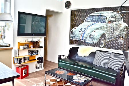 The best exquisite stay in Brussels City - Apartament