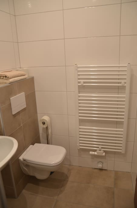 Room 3's restroom is new since Dec 2016