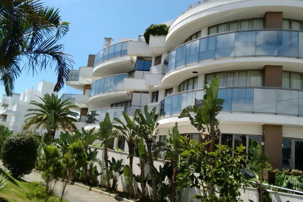 View of the condominium Vista do condomínio