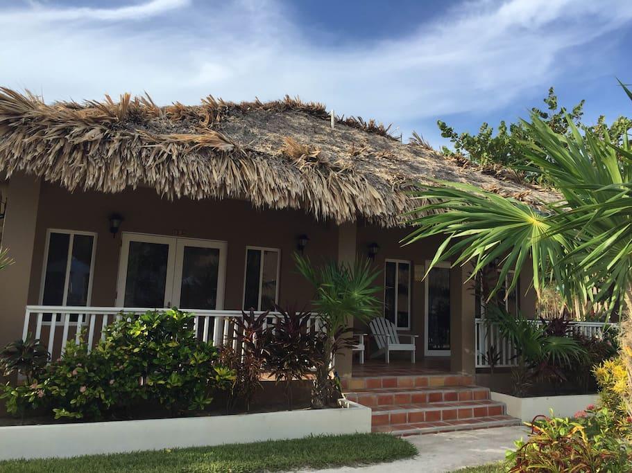 Our island cabana