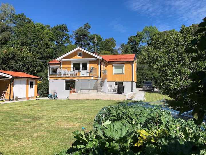 Lidingö close to nature and Stockholm city
