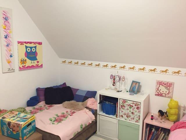 Einzelbett-Zimmer in gemütlicher Wohnung Detmold