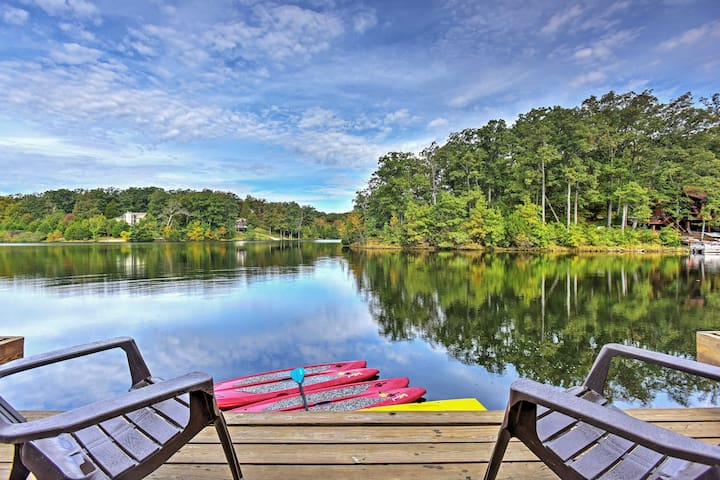 Waterfront Chalet at Innsbrook Resort w/ Kayaks!