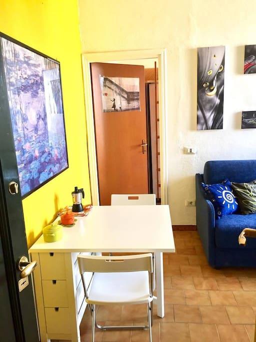 Entrance - Living room