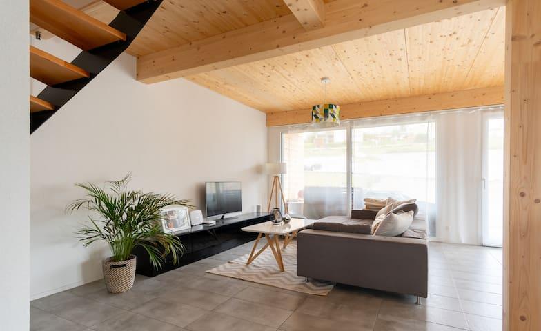 Joli maison ❤️ à 5min du Lac de Neuchâtel