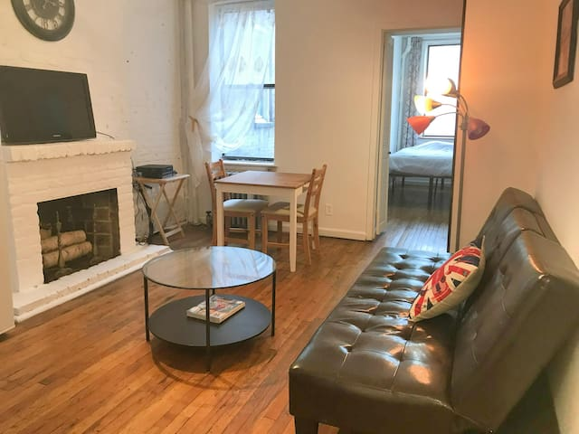 This adorable one bedroom on West 21st St/Chelsea