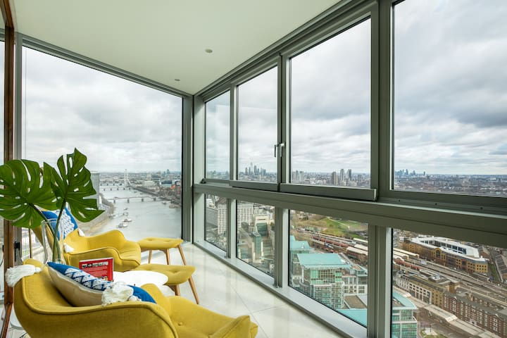 Magnificent 2BR/2BA Flat with London's Best Views!