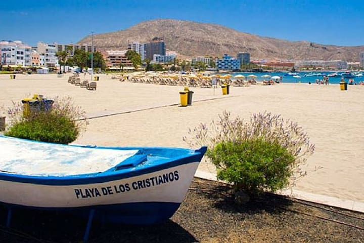 Los Cristianos - Terrace above the Sea