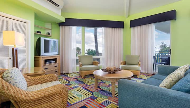HOLUA RESORT AT MAUNA LOA VILLAGE-1 BEDROOM SUITE