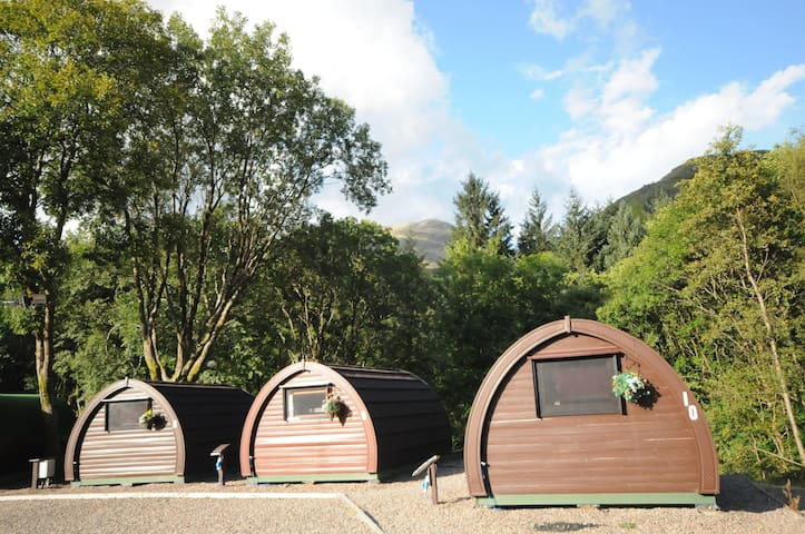 Blackwater all weather Glamping Pods