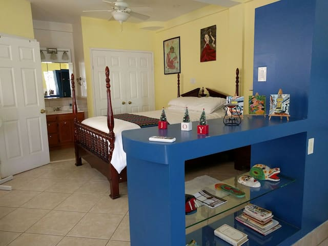 Belize - Cozy Studio Apartment  - Belize City - Byt