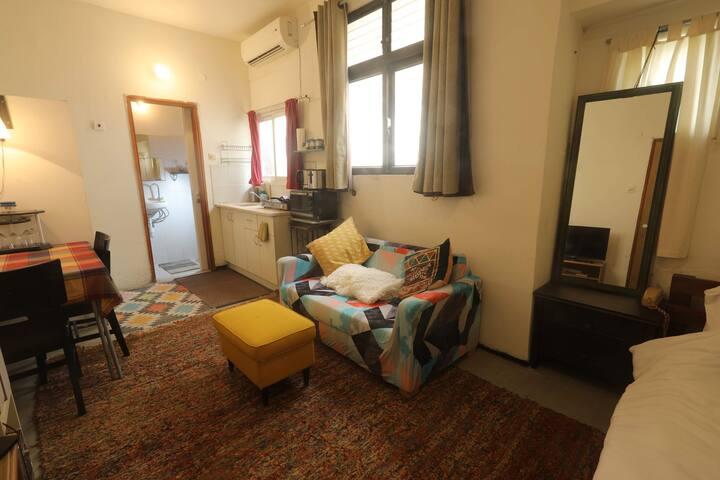 Cozy studio in Florentin neighborhood