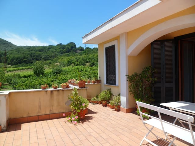 Private room in the country house - San Cipriano Picentino - Vila