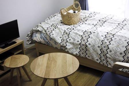 For traveling alone. Relaxed Room - Fushimi-ku, Kyōto-shi - Apartment