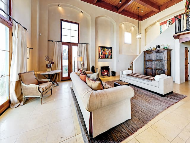 You will find plush furnishings and tons of space to unwind in the lavish main sitting area.